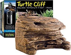 Exo Terra Turtle Cliff, Reptile Aquatic Terrarium Filter