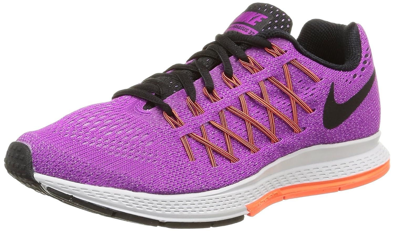 NIKE Women's Air Zoom Pegasus 32 Running Shoe B00V42Q1K6 6.5 B(M) US Purple/Fuchsia/Hyper Orange/Black
