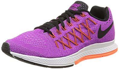 watch 318c6 03645 Nike WMNS Air Zoom Pegasus 32, Chaussures de Sport Femme, Violet (Vivid  Purple