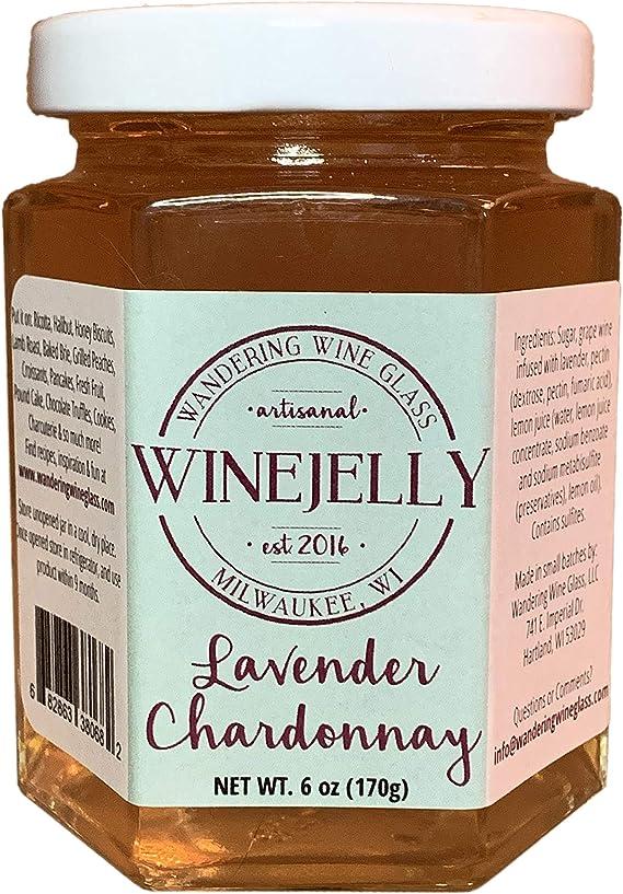 Lavender Chardonnay Wine Jelly
