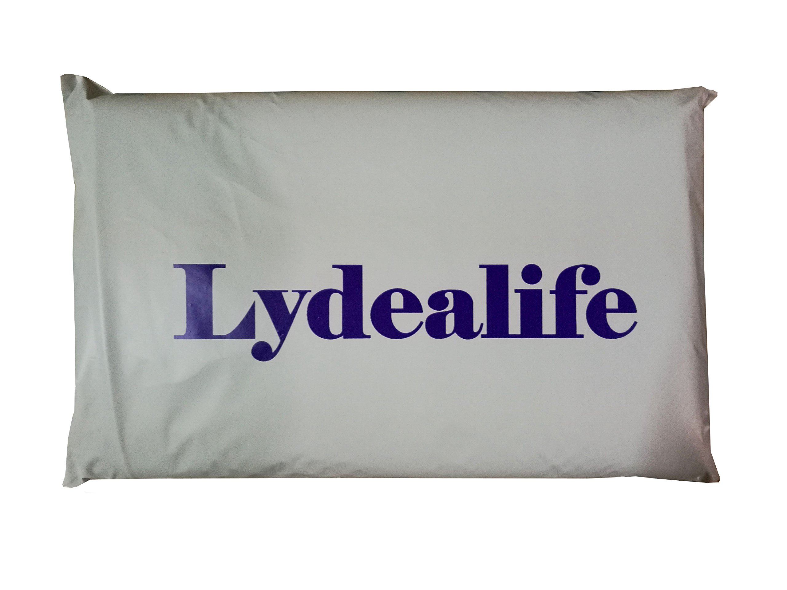 Lydealife (TM)18 X 18'' Cotton Linen Decorative Couple Throw Pillow Cover Cushion Case Couple Pillow Case, Set of 2 - I Love You & Love you More LD094 by Lydealife (Image #5)