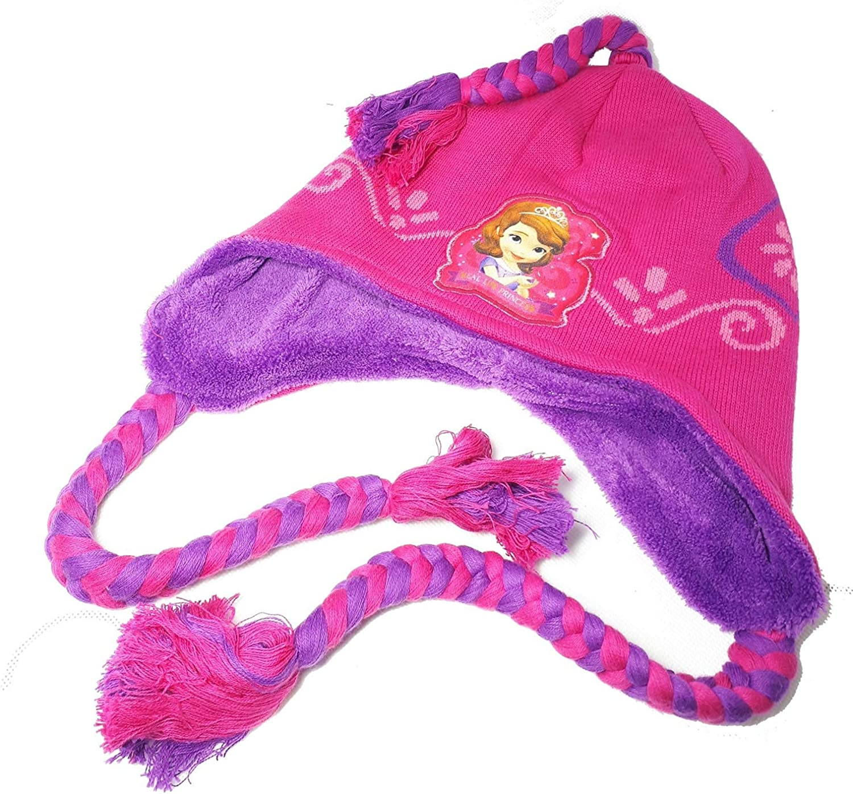 Fushia Choren Kids Princesse Sofia Bonnet p/éruvien Fille