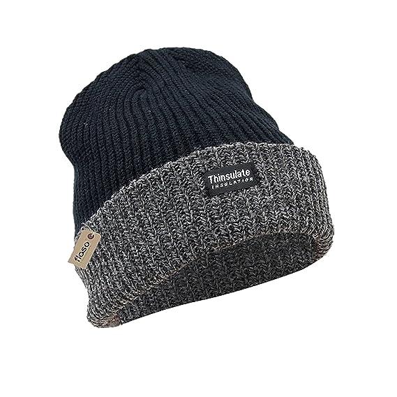 FLOSO - Gorro grueso térmico de invierno para la Montaña/Nieve/Invierno Unisex Hombre