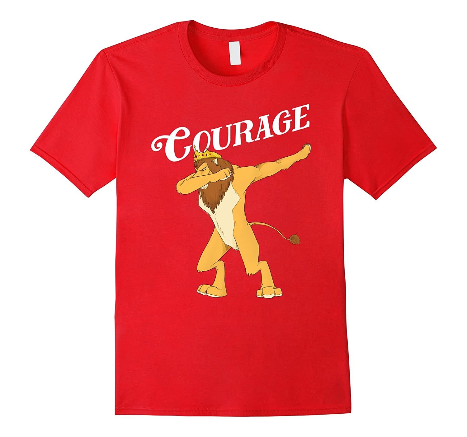 Cowardly Lion Dab T-Shirt - The Wizard Of Oz TShirt -Courage-TJ