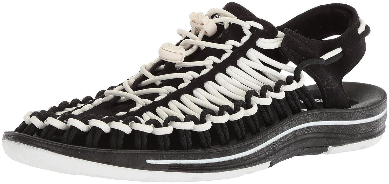 KEEN Men's Uneek Sandal B072QXW8SH 11.5 D(M) US|Black/White