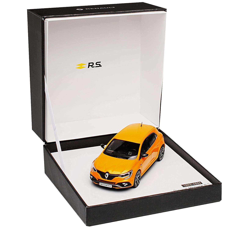 Generation Ab 2015 1//43 Renault Modell Auto mit individiuellem Wunschkennzeichen Norev Renault Megane RS IV Orange 5 T/ürer Ab 2017 4