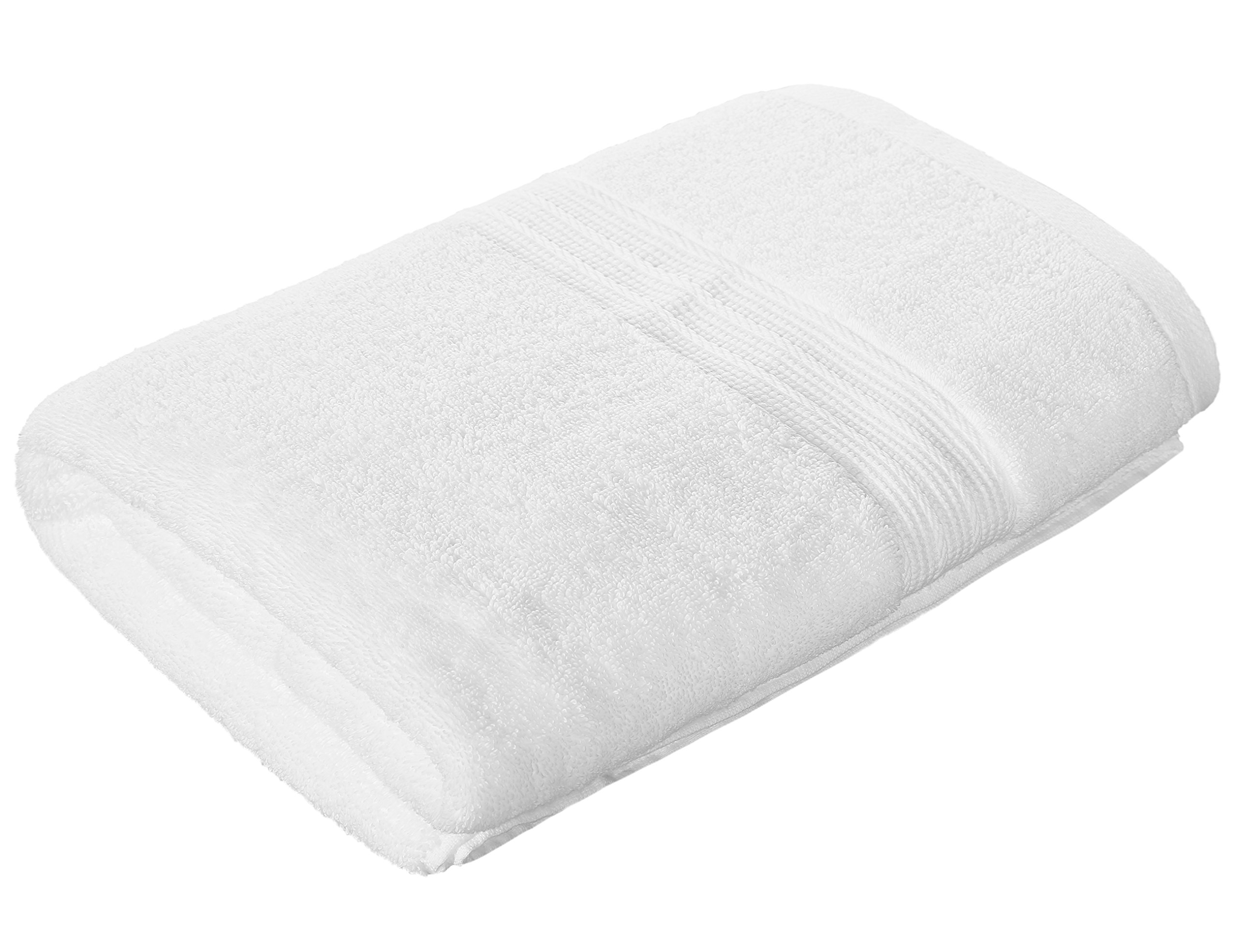 Chama Premium 700 GSM Extra Large Bath Towel(30 x 56 Inch) Luxury Bath Sheet 100% Cotton Soft Absorbent Available in More Colors for Home Hotel Spa - White