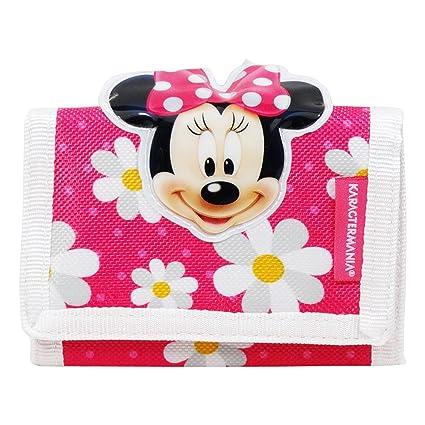 Disney Minnie Flowers Billetero cerrado por Velcro Chica ...