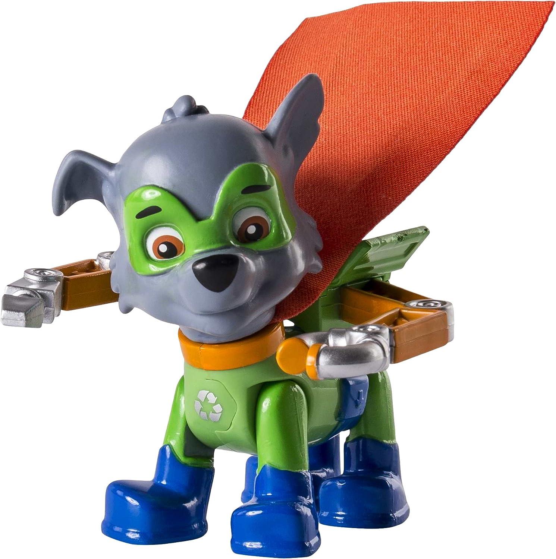 Bizak Patrulla Canina - Pack de acción Super Heroe Rocky 61926581: Amazon.es: Juguetes y juegos