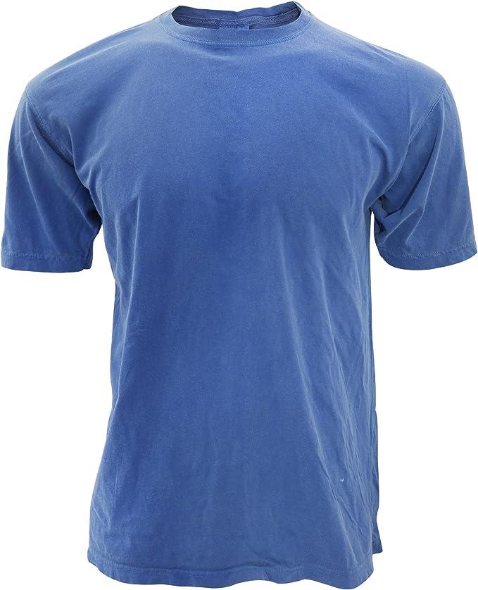 blue tee shirt