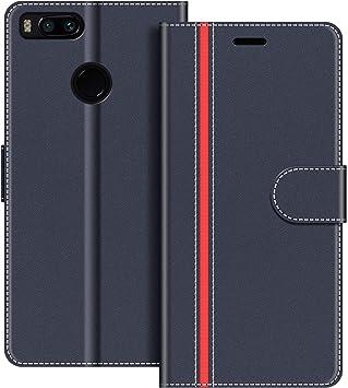 COODIO Funda Xiaomi Mi A1 con Tapa, Funda Movil Xiaomi Mi A1 ...
