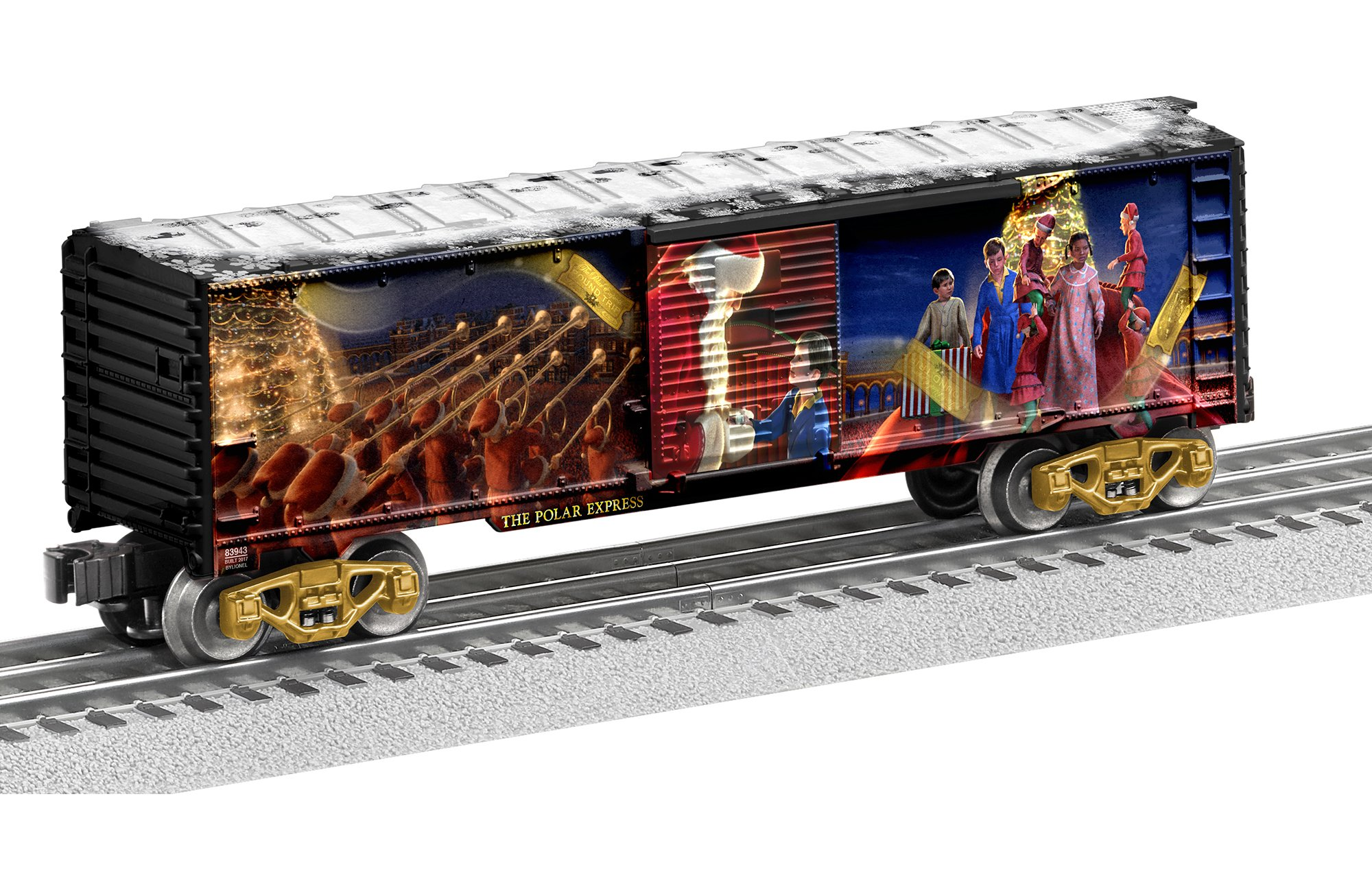 Lionel The Polar Express Boxcar Train
