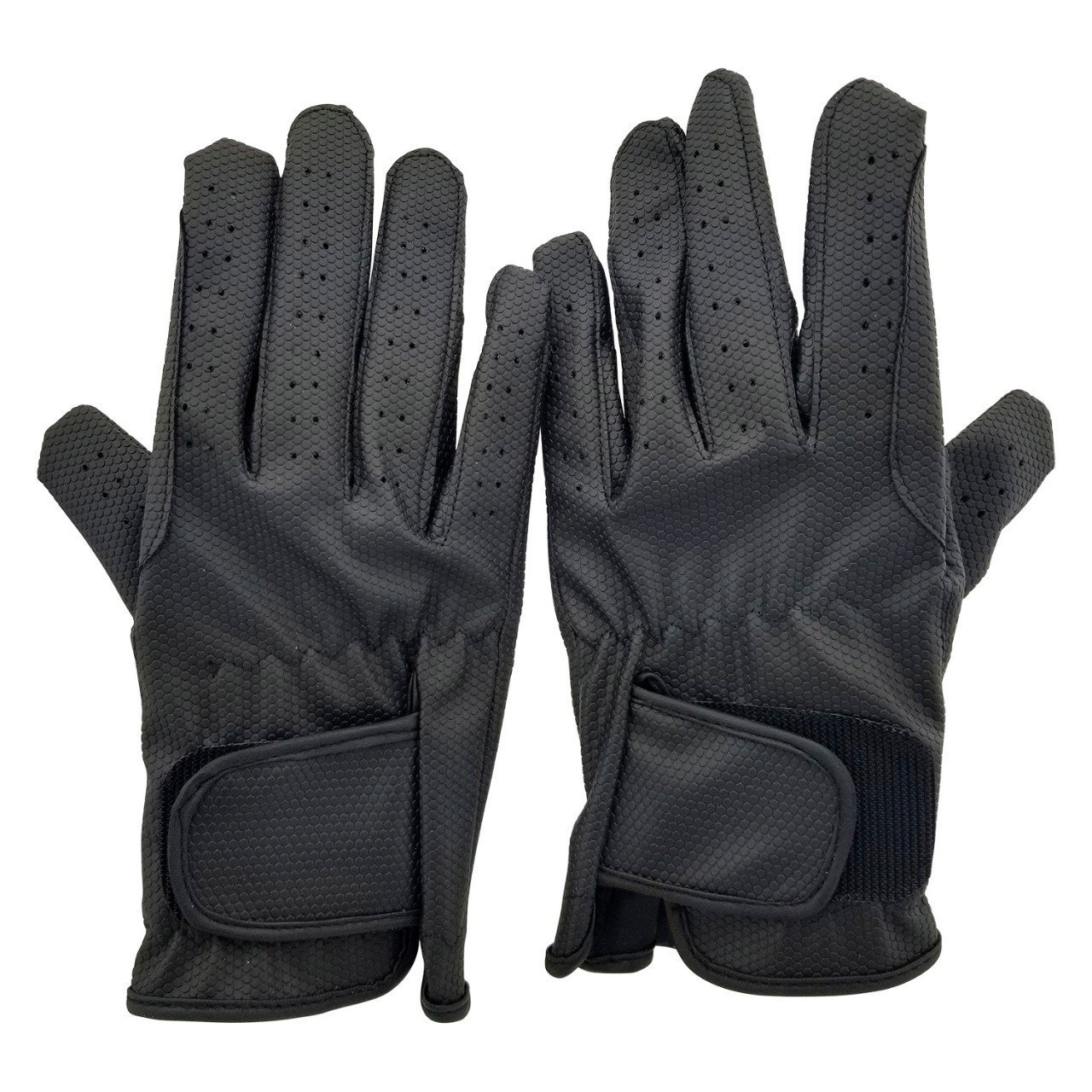 Allness Leather Equestrian Horse Multi Purpose Gents Riding Gloves for Men