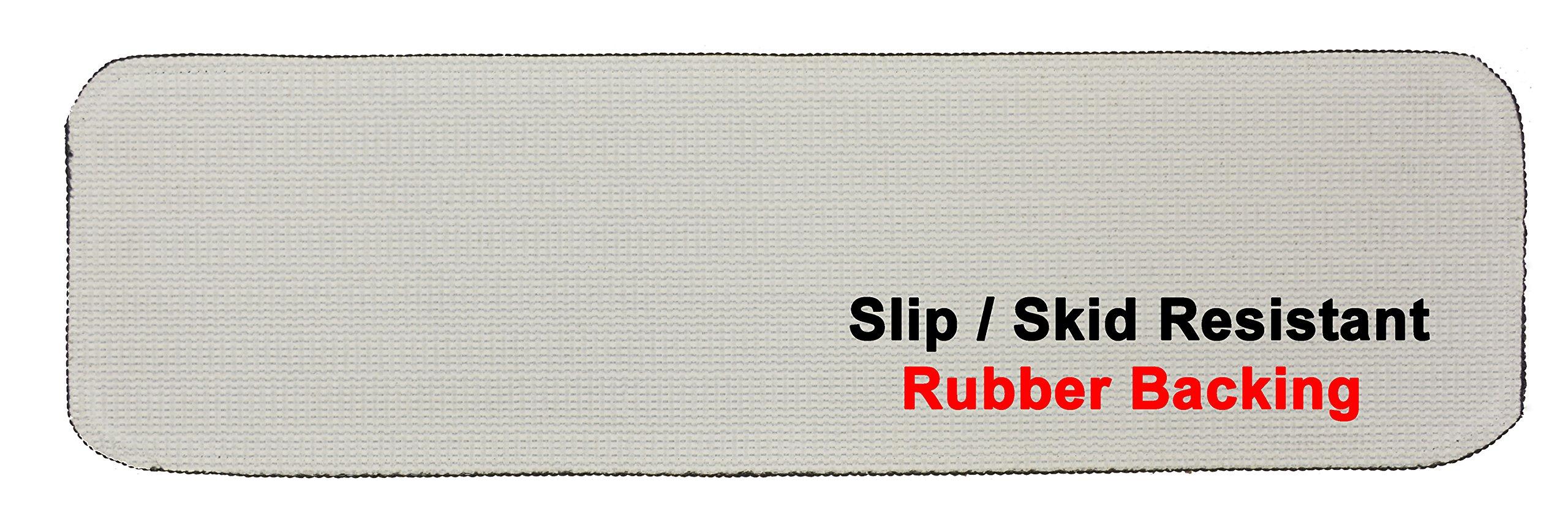RugStylesOnline TRENDY-ST-8X30-NAVY-13 Trendy Stair Tread Treads Indoor Skid Slip Resistant Carpet Stair Tread Treads Machine Washable 8 ½'' W x 30'' L, Royal Navy Blue, Set of 13 by RugStylesOnline (Image #5)