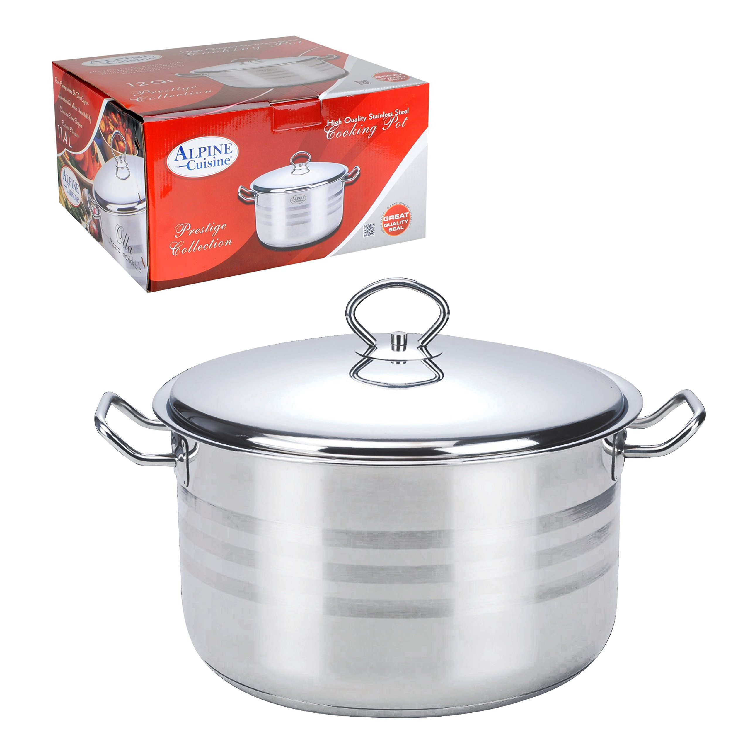 Aramco Alpine Gourmet Dutch Oven, 40 quart, Stainless Steel