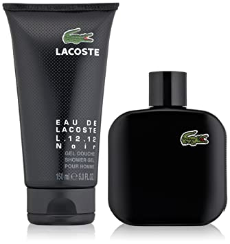 Amazon.com  Lacoste Eau de Lacoste L.12.12 Noir Gift Set for Men ... 226e37fe71