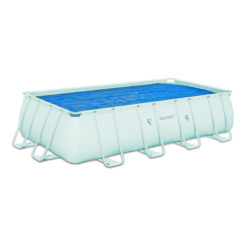 Bestway - Cobertor Solar para piscinas desmontables de 549 x 274cm: Amazon.es: Jardín