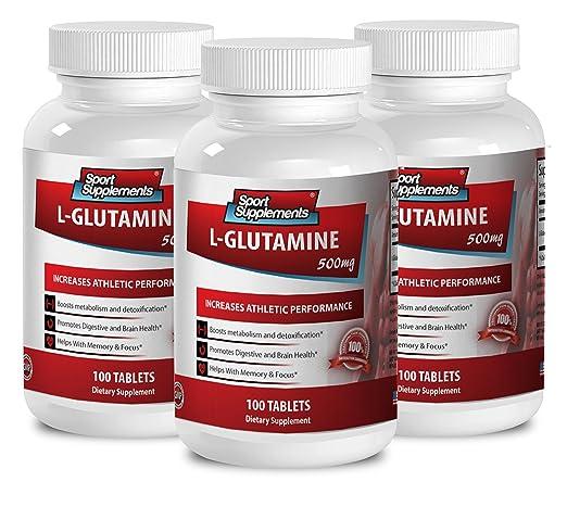 Amazon.com: Líquido Suplementos de Aminoácidos – L glutamina ...