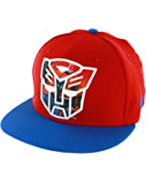 Transformers Autobot Sublimated Action Logo Men's 59FIFTY Flex-Fit Baseball Cap