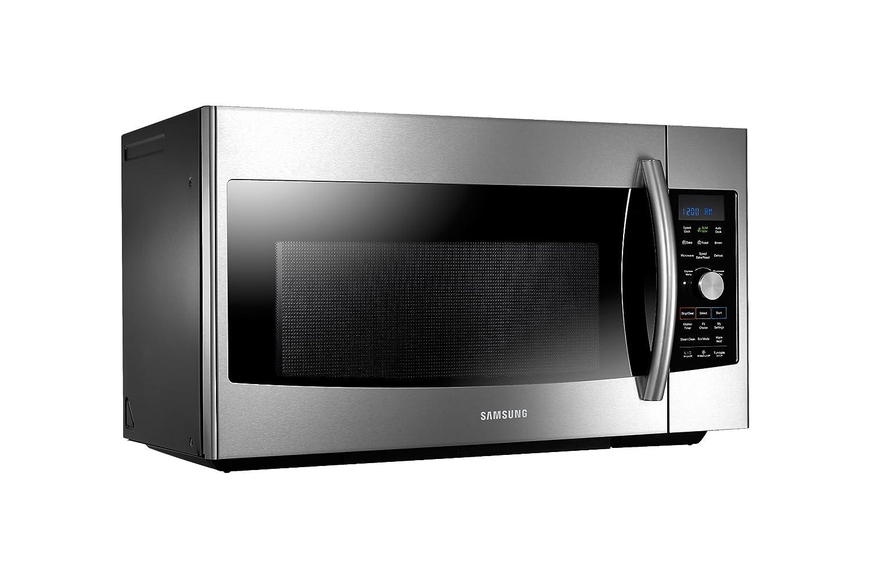 amazoncom samsung mc17f808kdt convection microwave 17 cubic feet appliances