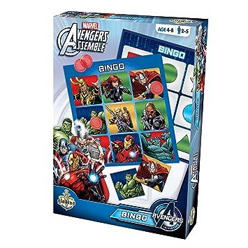 Marvel Avengers Assemble Bingo Game: Amazon.co.uk: Toys & Games