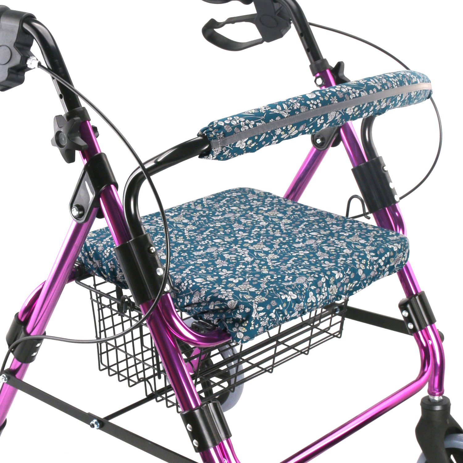 Walker Seat Cover Rollator Walker Seat and Backrest Covers Vibrant Walker Cover One Size Multiple Colors (CB1882) by TOMMHANES AMISGUOER