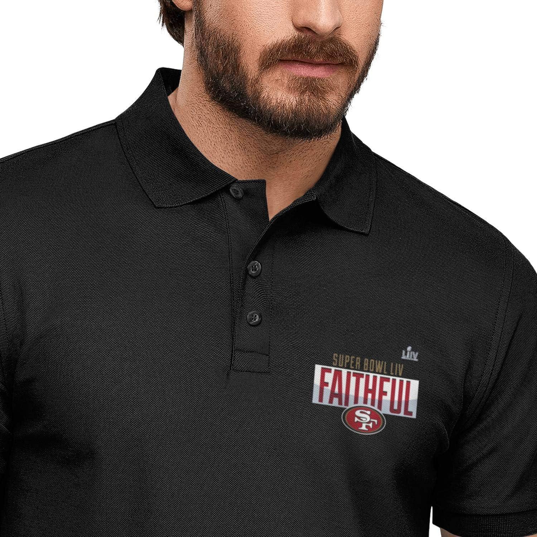 KSEERBABALL Mens Short-Sleeve Soft Cotton Polo Shirt