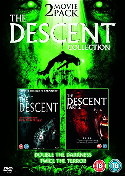 Descent, The 1 & 2 Duopack DVD [Reino Unido]: Amazon.es: Descent Part 2: Cine y Series TV