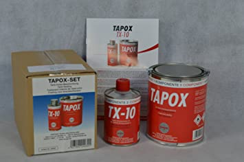 2 Sets Fertan Tapox 2 Komponenten Epoxy Tankversiegelung Tank Rost Auto Motorrad Tankbeschichtung Innenbeschichtung Tankrestaurierung Auto
