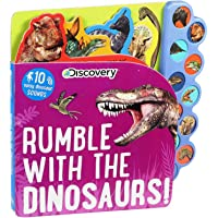 Image for Discovery: Rumble with the Dinosaurs! (10-Button Sound Books)