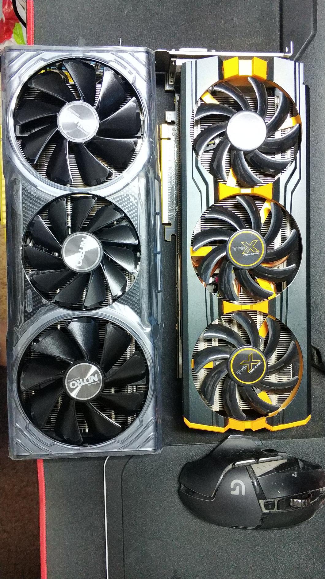 Sapphire 11275-03-40G Radeon Nitro+ RX Vega 64 8GB HBM2 Dual