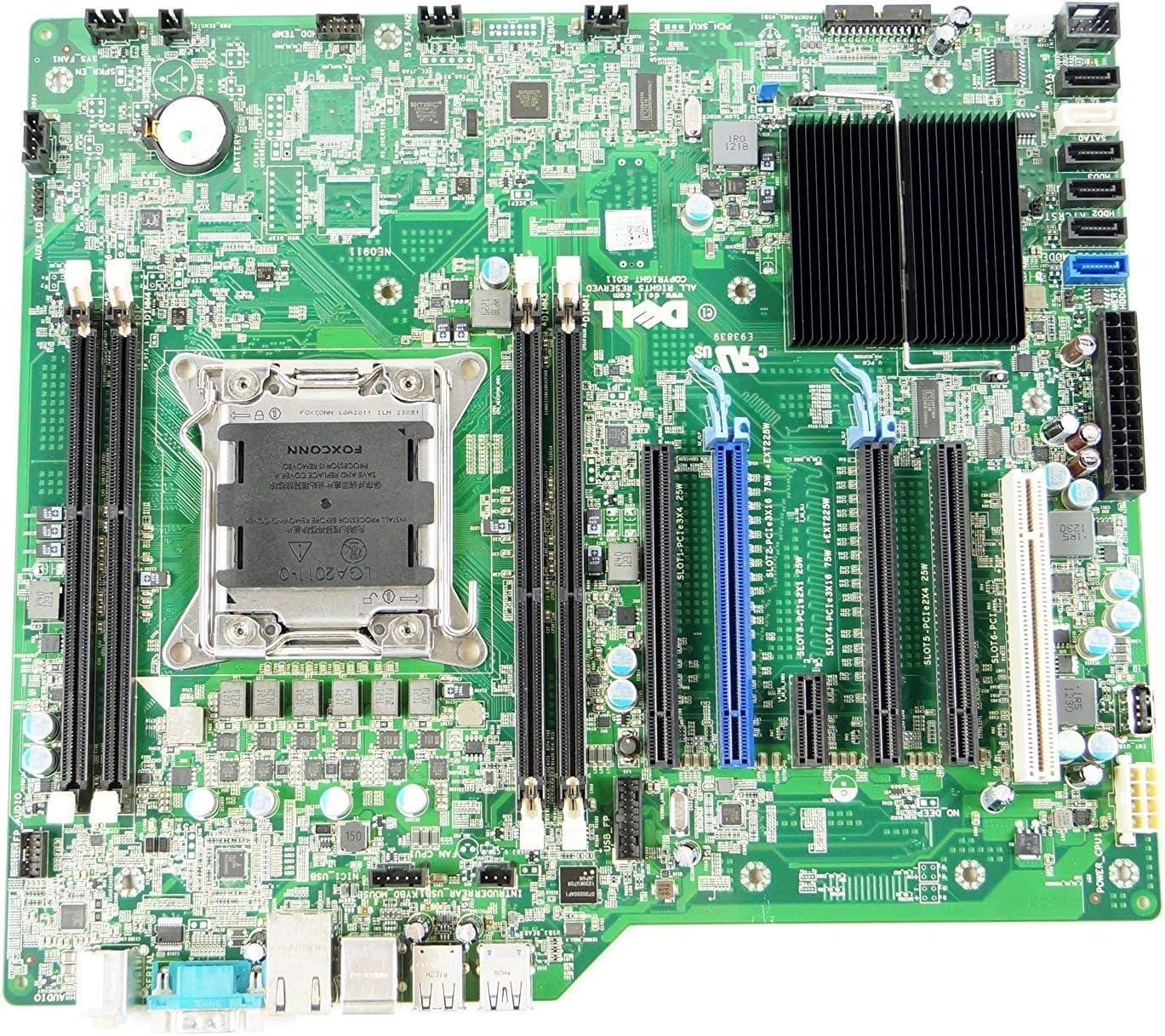 8HPGT Dell Precision T3600 Socket LGA 2011 ATX Desktop Motherboard (Certified Refurbished)