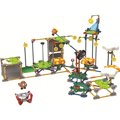K'NEX Nintendo Super Mario 3D Land Flying Cloud Building Set: Toys & Games