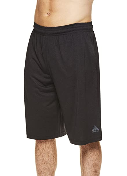 c9b4bd629 Amazon.com  Above the rim Men s Big and Tall Exercise Elastic Waist Athletic  Gym Knee Shorts  Clothing