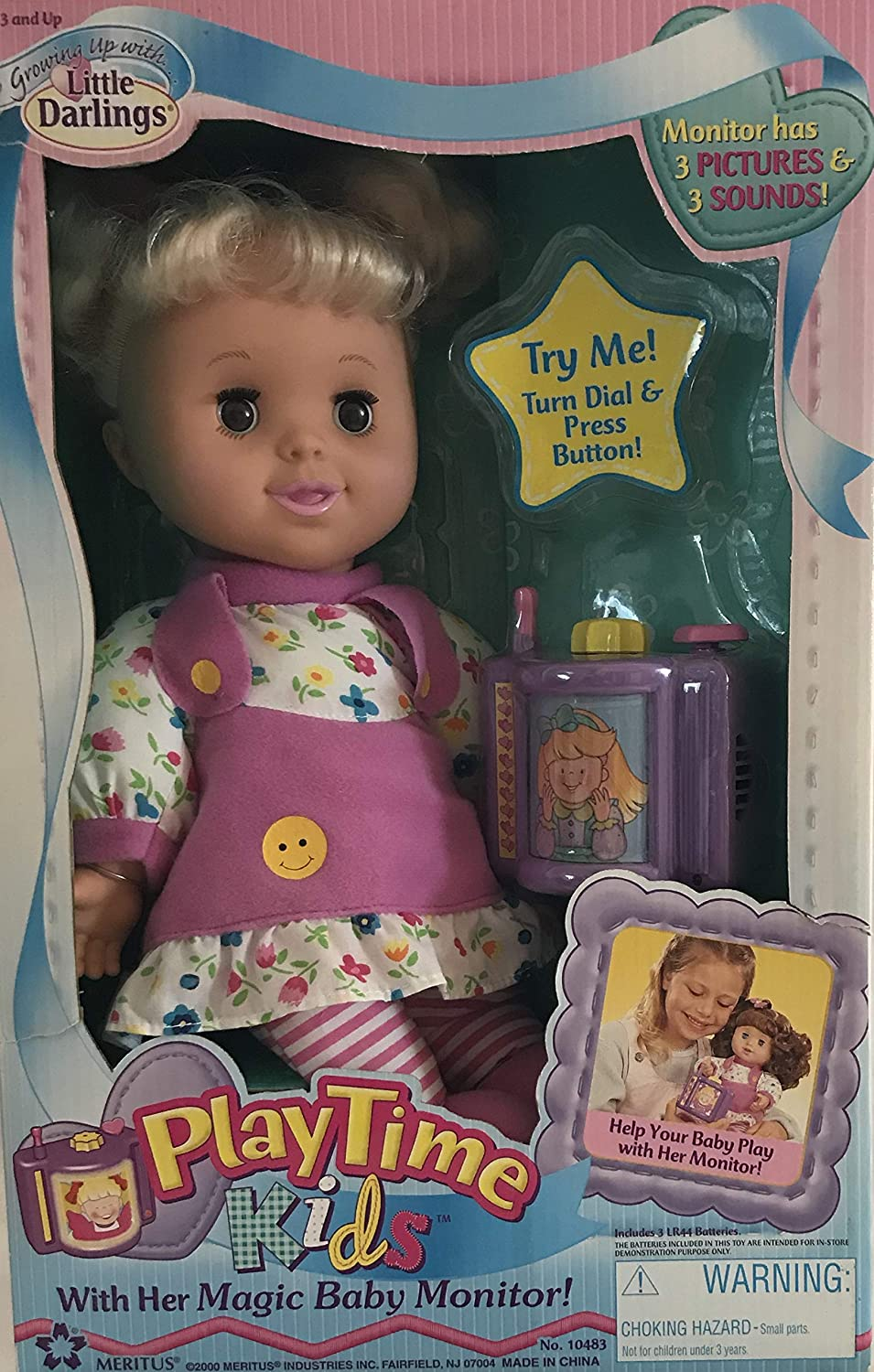 Amazon.com: Playtime Kids Growing UP con Little Darlings ...