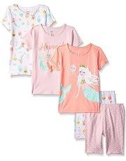 37d6224af Carter's Baby-Girl 5-Piece Cotton Snug-fit Pajamas
