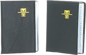 "Lot of 2 Mini Vinyl Address Books 4"" x 3"" Phone Book K6885-01"