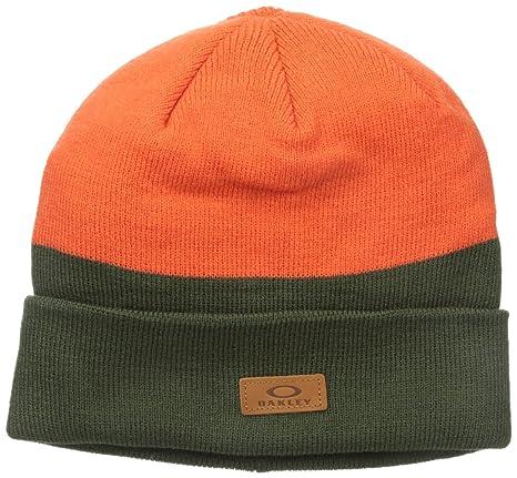 1ecd6da5397 Amazon.com   Oakley Mens Boylermaker Cuff Beanie Hat One Size Herb ...