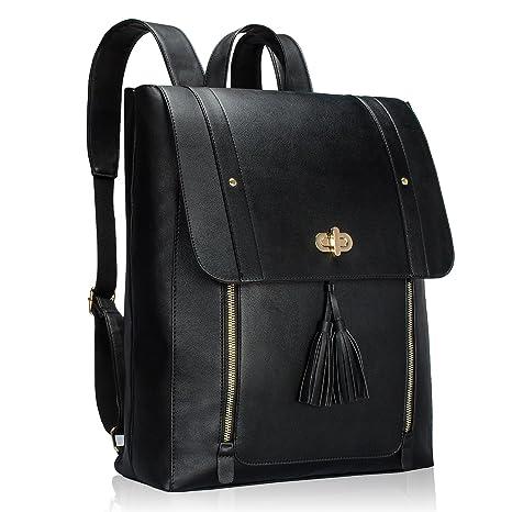 57d00eafb986 Estarer Women Detachable Tassel Keychain Backpack for 13.3-14 Inch ...