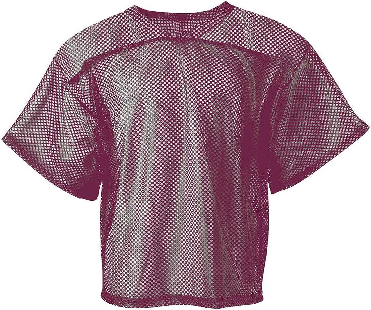 Men/'s Bike Mesh Practice Football Jerseys M XL PURPLE Maroon Short Sleeve