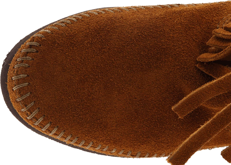 Minnetonka Women's 3-Layer Fringe Boot B0007W0RQ8 9 B(M) US Brown