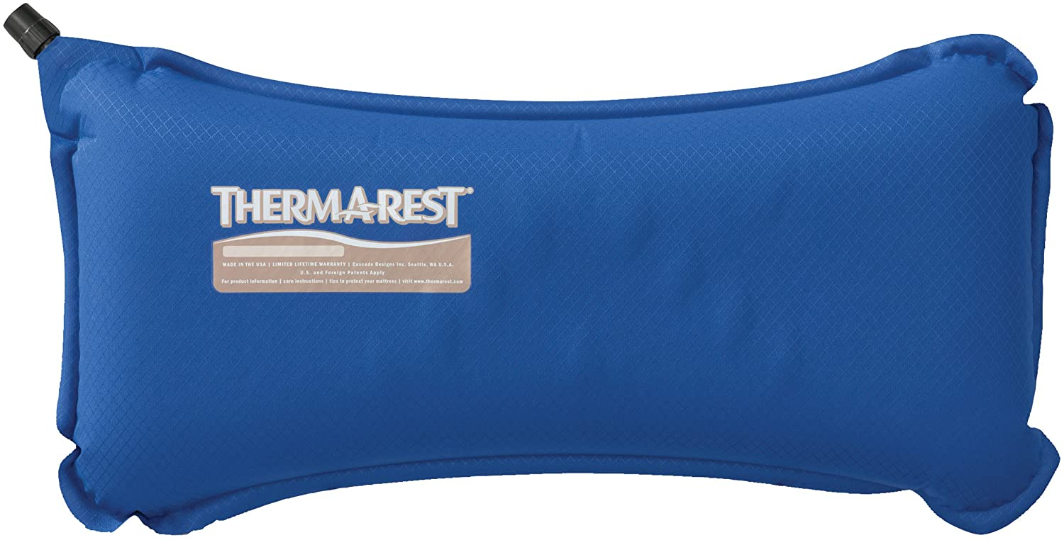 Therm-a-Rest Lumbar Travel Pillow, Nautical Blue: Sports & Outdoors