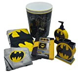 Jericho Products Batman Bathroom Accessory Bundle 6