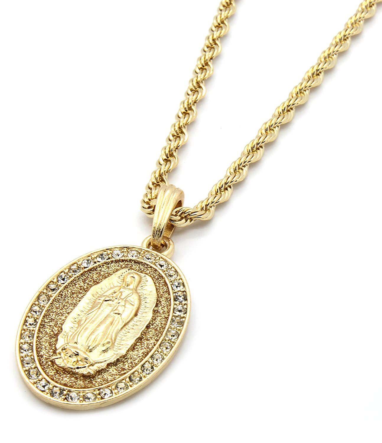 rope hip mens p bling gold chain s hop uk twist unisex inch necklace
