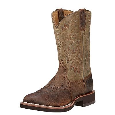 Amazon.com | Ariat Men's Heritage Crepe Boot | Western