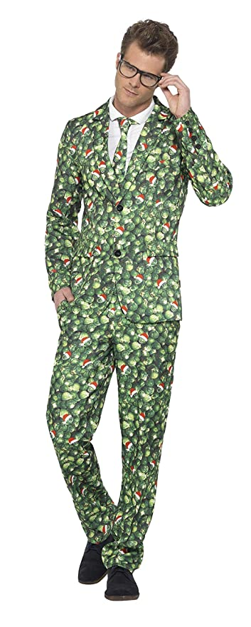 Smiffys Disfraz de Col de Bruselas, Verde, con Chaqueta ...