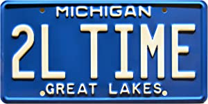 Celebrity Machines Home Improvement | Tool TIME | Metal Stamped License Plate