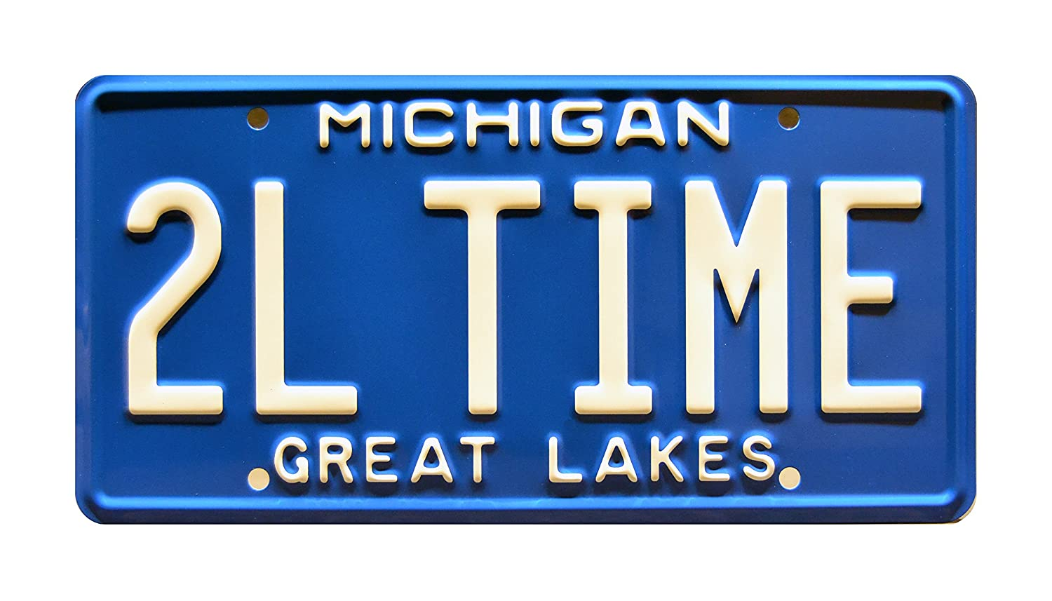 Home Improvement   Tim Allen' s Ford Roadster   TOOL TIME   Metal Stamped Vanity Prop License Plate Celebrity Machines 2LTIME