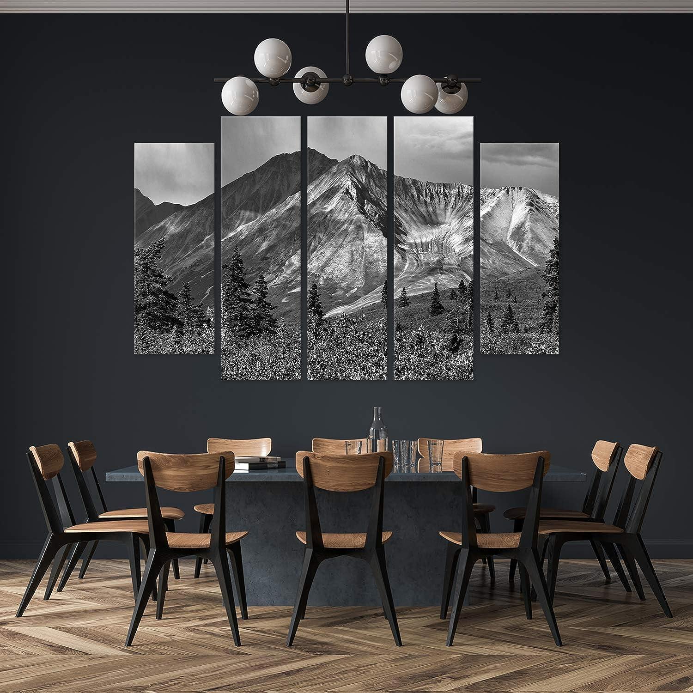 Leinwand Bilder Wandbilder 5 teilig Natur Landschaft Tier Wand Deko Auswahl