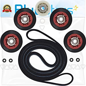 Ultra Durable 4392067RC 27-Inch Dryer Repair Kit Replacement by Blue Stars - Exact Fit for Whirlpool Dryers - Replaces 4392067RC 4392067VP 587637 80047 AP3109602